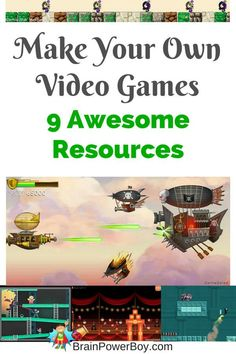 Homeschool Unit Study: Make Your Own Video Game Is your boy crazy for video games? Use this Homeschool Unit Study to get him learning by making his own games. Cartoon Network, Intranet Design, Game Programming, Video Game Development, Web Development, Software, Nintendo, Coding For Kids, Computer Science