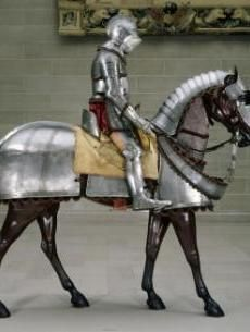 The centerpiece of the Armor Court at the CMA. Armor for Man and Horse with Völs-Colonna Arms. North Italy c. From the collection of the Cleveland Museum of Art. Medieval Horse, Medieval Armor, Medieval Fantasy, Horse Armor, Arm Armor, Cleveland Museum Of Art, Cleveland Art, Cleveland Rocks, Armadura Medieval