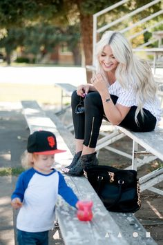 CARA LOREN..... Cute little boy  and mommy fashion