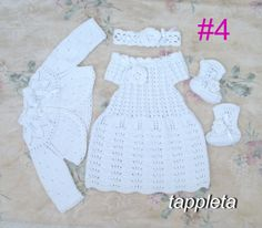 #freeship #baptism #outfit for #baby girl #dress от tappleta