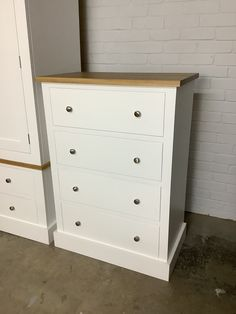 Affordable besoke furniture. Can be any size or colour. Get in touch for a quote today! Painted Chest, Shaker Style, Chest Of Drawers, Plank, Dresser, Quote, Touch, Colour, Modern