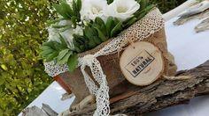 Cestino in juta handmade ... Come decorare la tua tavola con eleganza e semplicita'...
