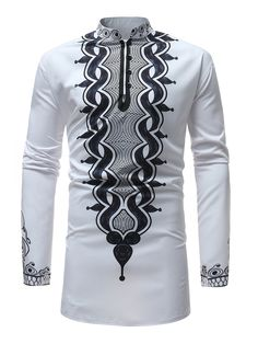 Looking for iLXHD Men's Top Blouse Autumn Winter Luxury African Print Long Sleeve Dashiki Shirt ? Check out our picks for the iLXHD Men's Top Blouse Autumn Winter Luxury African Print Long Sleeve Dashiki Shirt from the popular stores - all in one. African Clothing For Men, African Shirts, African Wear, African Style, Nigerian Men Fashion, African Men Fashion, Ethnic Fashion, Fashion Men, Fashion Rings