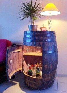 Barrel for the bar