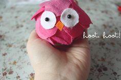 a cute owl craft :)