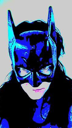 Satu Ylävaara Retrospective Art: Minä tulin Gothamista Rocky Horror, Batwoman, Snow Queen, Gotham, Banks, Graphic Art, Artwork, Graffiti, Joker