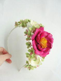 Headband. Wedding accessories. Wedding flowers. Wedding. Handmade flowers. Flowers.