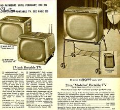 Cool Television Ad; Sears; 1958