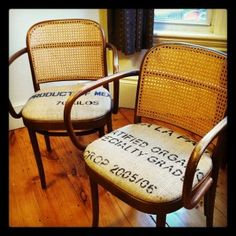 coffee sack chairs