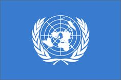 United Nations Flag ~ Not all countries are members of the United Nations. The link to this pin lists those countries that are members