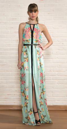 Vestido Longo Hortênsia | Novidades | Antix Store