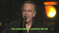 Neil Diamond - Pretty Amazing Grace (with lyrics)