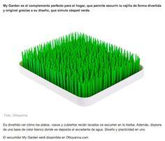 FOTOCASA DECO - Escurridor de platos My Garden - Abril 2014. http://www.ottoyanna.com/escurridor/1514-escurreplatos-my-garden.html  #MyGarden #escurreplatos #escurridor