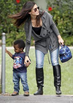 Sandra Bullock and Louis