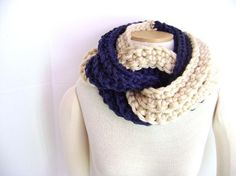 Have to make one of these  scarves for winter