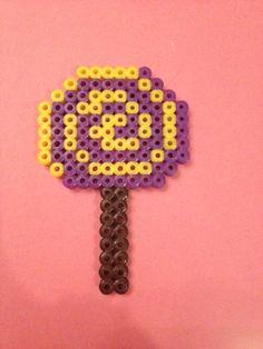 Lollipop hama beads by TheMissBlue