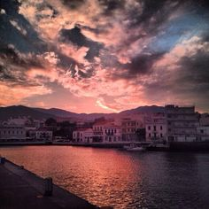 Agios Nikolaos Crete Crete Island, Crete Greece, Sandy Beaches, Beautiful Islands, Places To Visit, Clouds, Landscape, Water, Outdoor