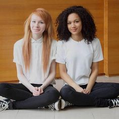 No One Believes These Teen Girls Are Twins