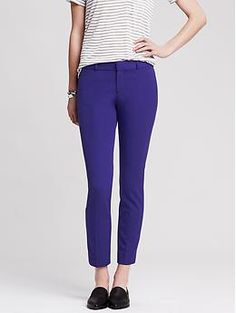 Sloan-Fit Slim Ankle Pant - Pants