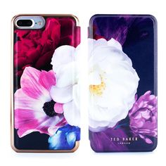 39bd007e87 Ted Baker SS17 CANDANCE Mirror Folio Case for iPhone 7 Plus - Blushing  Bouquet