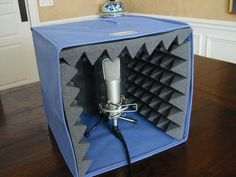 Picture of Portable Voice Recording Booth