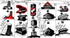 Rem Koolhaas Diagrams  #architecture #Koolhaas #OMA #Rem Pinned by www.modlar.com