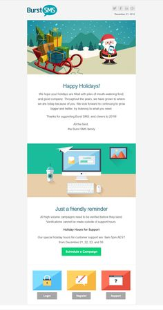This is an ode to the beautiful email I designed, and no one ever received.. because Infusionsoft decided to get stuck the day before Christmas. And, I never noticed until I got back from vacation a month later. By then it was way too late. Sigh. #marketing #email #design