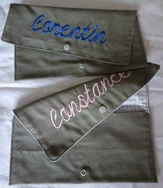 Range serviette personnalisé