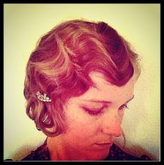 How-To Hair Girl | DIY finger wave and pin-curl set for beginners.