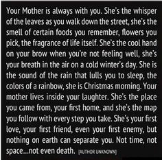 Unconditional Love From Your Mother!""