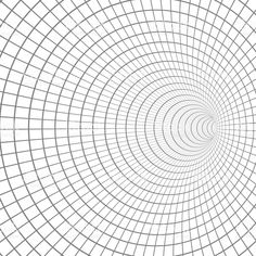 Illustration of Vector Spiral Tunnel. Illusion Drawings, Illusion Art, Art Optical, Optical Illusions, Greek Paintings, Altered Canvas, Pattern Coloring Pages, Wireframe, Dot Painting