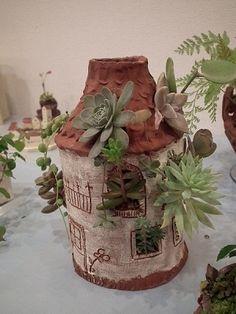 陶芸教室作品展 植木鉢いっぱい作ったわぁ~ : 志乃's スローライフ通信