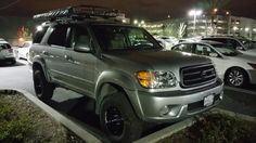 Toyota sequoia 4wd, toytec lift, tundra steelies, bfg muds, arb awning 2003 Toyota 4runner, Toyota 4x4, Toyota Trucks, Sequoia Camping, Toyota Sequioa, Ford Ranger Truck, Adventure Gear, Expedition Vehicle, Land Rovers