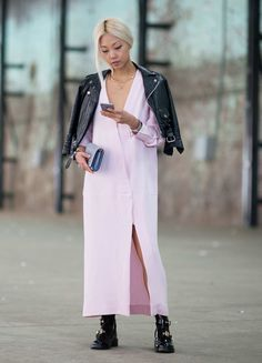 pink pop. #VanessaHong in Sydney. #TheHautePursuit