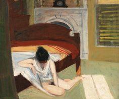 Summer Interior (Edward Hopper, 1909, Whitney Museum, New York)