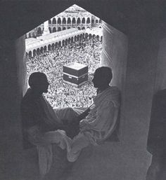 I love old pictures of Hajj. It shows us the changes, and yet the timelessness of it all.