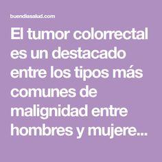 El tumor colorrectal es un destacado entre los tipos más comunes de malignidad entre hombres y mujeres. Lo que es más, a pesar del hecho de que hay numerosas curas normales que pueden mantener esta
