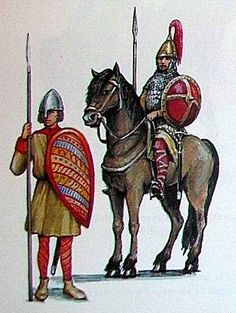 Polish warriors (woje). Timeline - c. 10th-12th centuries: the early Piast Dynasty state