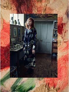 visual optimism; fashion editorials, shows, campaigns & more!: amongst the bohemians: lera tribel by tom allen for uk harper's bazaar november 2014