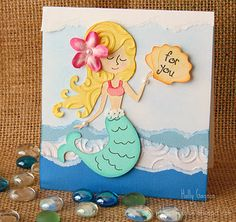 Cute (uses Cricut Life's a Beach cartridge)