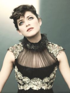 Marion Cotillard looks like a gorgeous silent film actress. She tells a story without saying a word