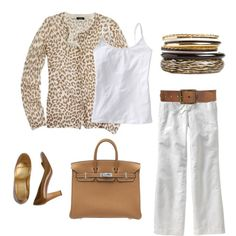 White and leopard!