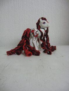 Tragic Love my little pony custom by AssassinKittyCustoms on Etsy, £30.00