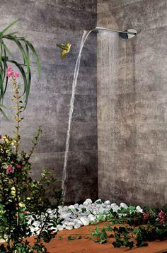 Moderne Duscharmatur – innovative Regendusche von Webert