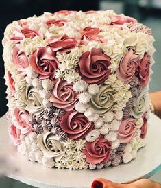 If you are thinking about which cake to order for you baby then here is a list of birthday cake ideas! Buttercream Cake Designs, Buttercream Birthday Cake, Cake Decorating Frosting, Cake Decorating Designs, Creative Cake Decorating, My Birthday Cake, Birthday Cake Decorating, Cake Decorating Techniques, Creative Cakes