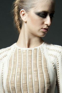 Alice Lee, SS12, knitwear