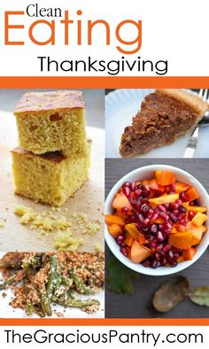 Enjoy healthy, wholesome, delicious foods at your Thanksgiving dinner table this year.