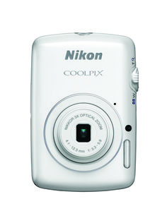 Nikon Coolpix S01 10.1 Megapixel Digital  Camera, Ultra Compact