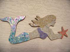 This Mosaic Wall Art would be a perfect addition to a young girls room decor…