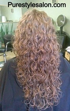 Natural body wave perm